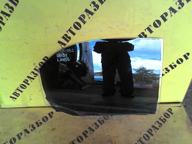 Стекло двери задней правой Chevrolet Lanos 2004-2010