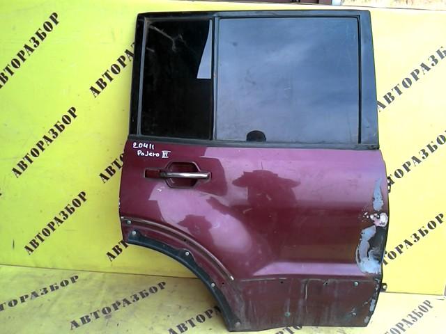 Дверь задняя правая Mitsubishi Pajero3 (V6 V7) 2000-2006