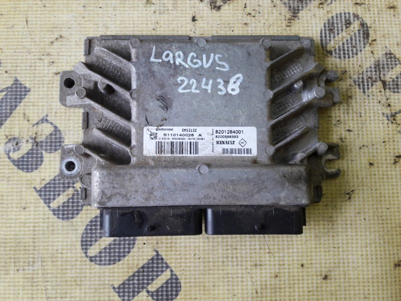 Блок управления двигателем Lada Vaz Largus