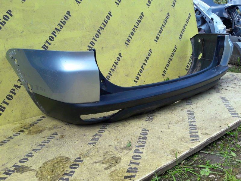 Бампер задний Mitsubishi Pajero Sport (Kh) 2008-2015
