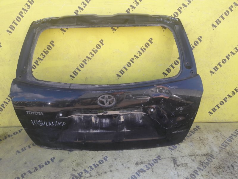 Крышка багажника Toyota Highlander 2 2007-2013