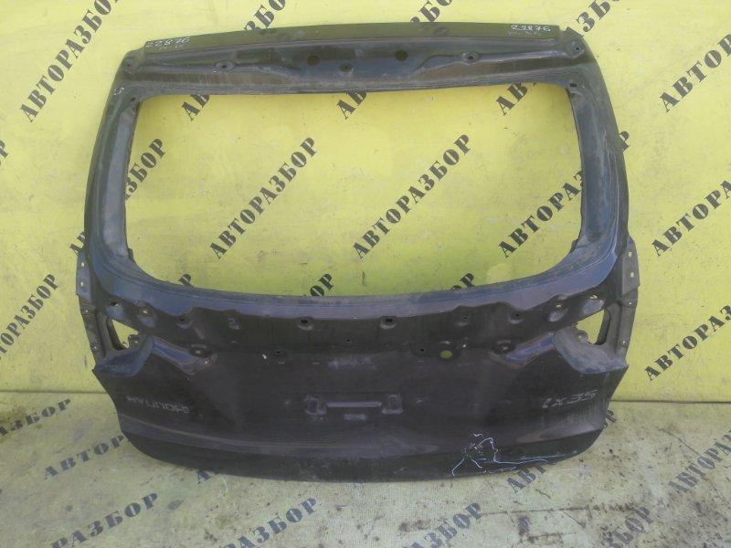 Крышка (дверь) багажника Hyundai Ix35 2010-2015