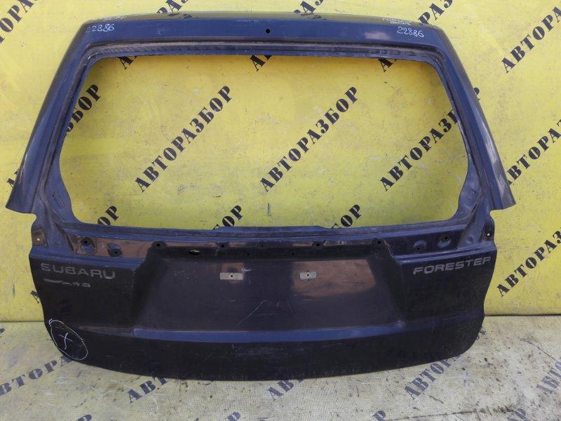 Крышка (дверь) багажника Subaru Forester (S12) 2008-2012