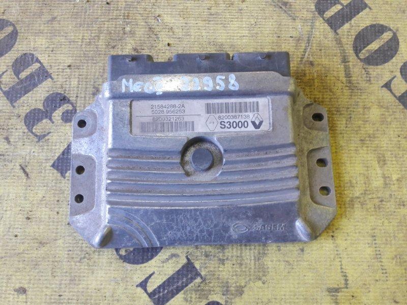 Блок управления двигателем Renault Megane 2 2003-2009