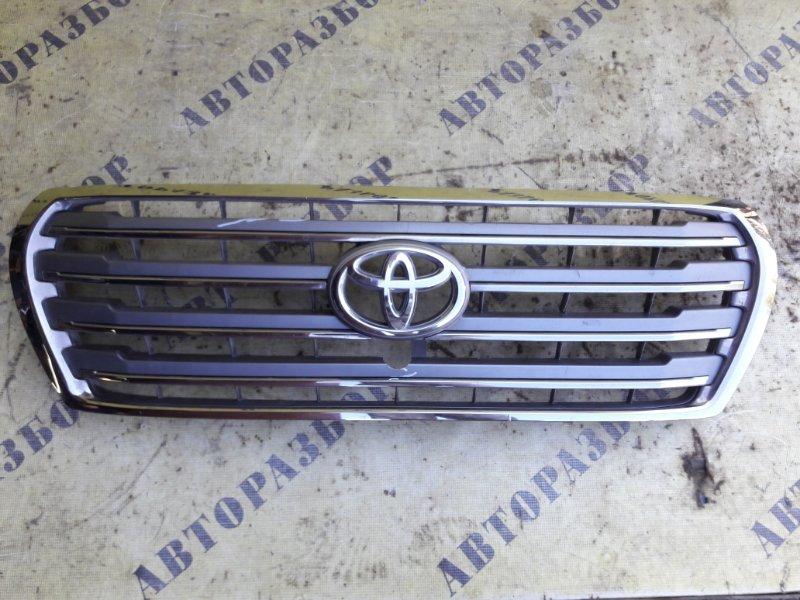 Решетка радиатора Toyota Land Cruiser 200 2008-H.b.