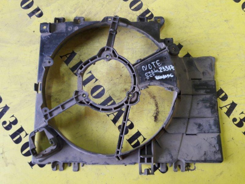 Диффузор вентилятора Nissan Note (E11) 2006-2013