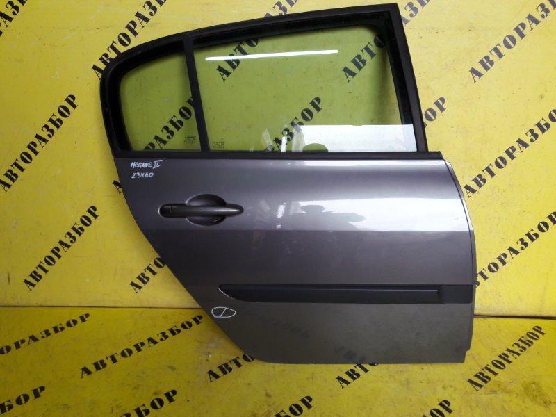 Дверь задняя правая Renault Megane 2 2003-2009