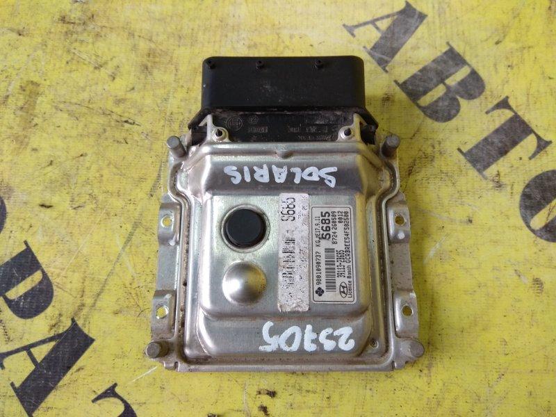Блок управления двигателем Hyundai Solaris 2010-2017