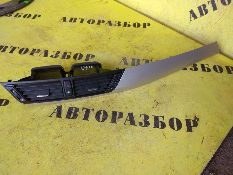 Дефлектор воздушный Bmw X1 E84 2009-2014