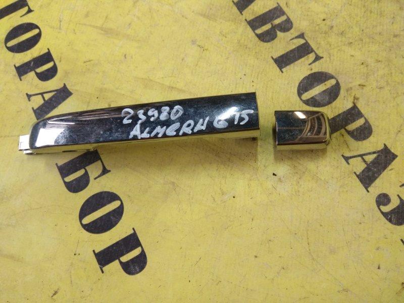 Ручка двери задней правой наружняя Nissan Almera (G15) 2013-H.b.