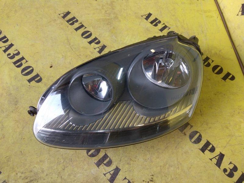 Фара левая Volkswagen Golf 5 2004-2009
