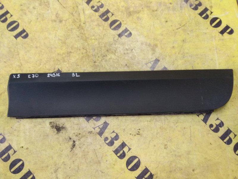 Накладка двери задней левой Bmw X5 E70 2007-2013