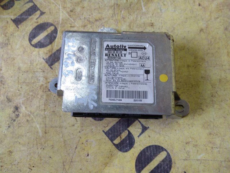 Блок управления air bag srs Renault Megane 2 2003-2009