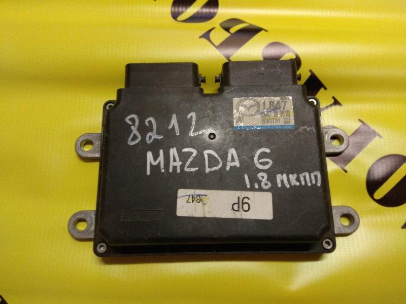 Блок управления двигателем Mazda Mazda 6 (Gh) 2007-2012