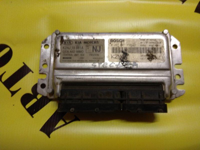 Блок управления двигателем Kia Spectra 2001-2011