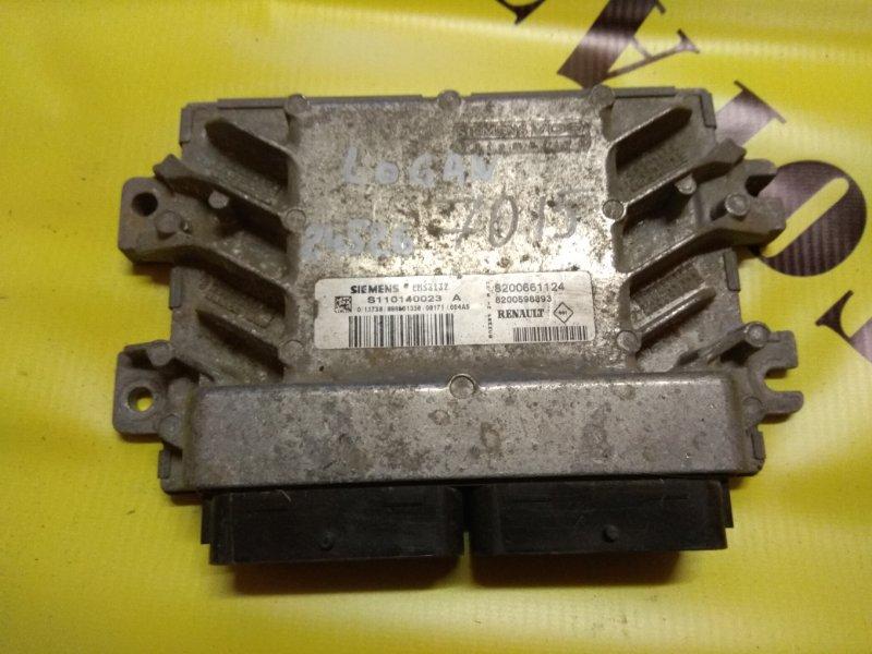 Блок управления двигателем Renault Logan 2005-2014