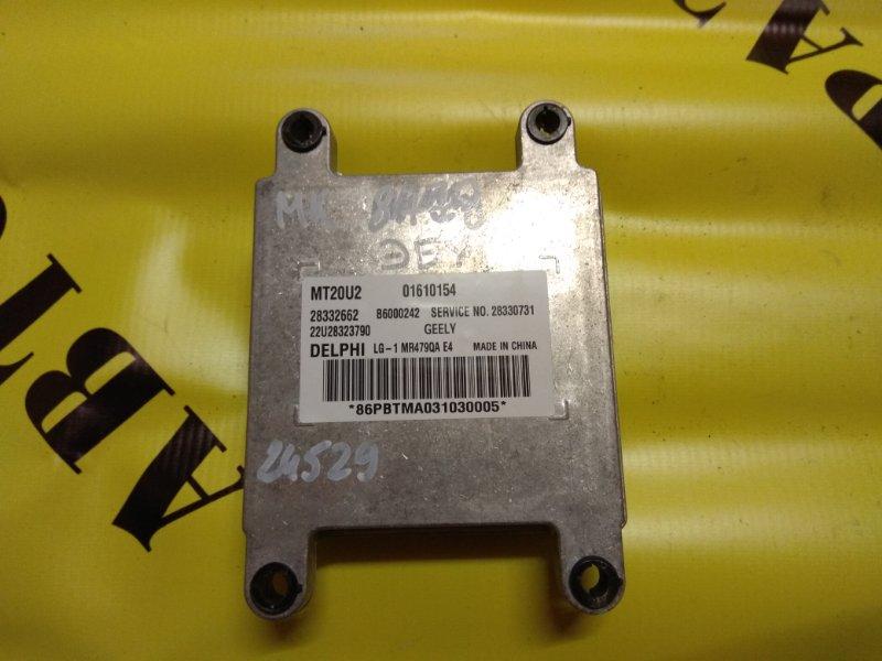 Блок управления двигателем Geely Mk 2008-2015