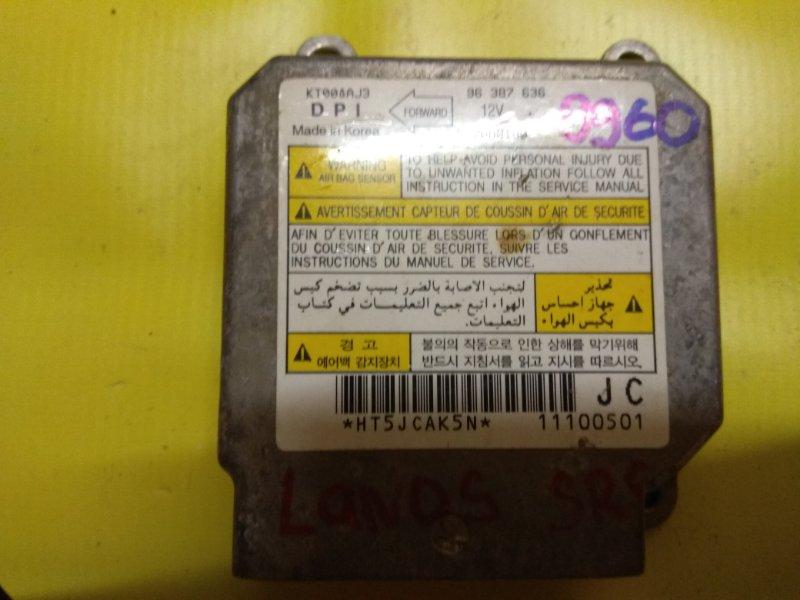 Блок управления air bag srs Chevrolet Lanos 2004-2010