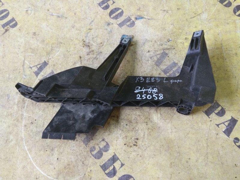 Кронштейн фары левый Bmw X3 E83 2004-2010