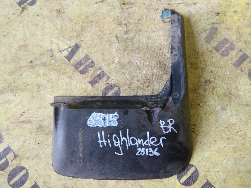 Брызговик задний правый Toyota Highlander 2 2007-2013