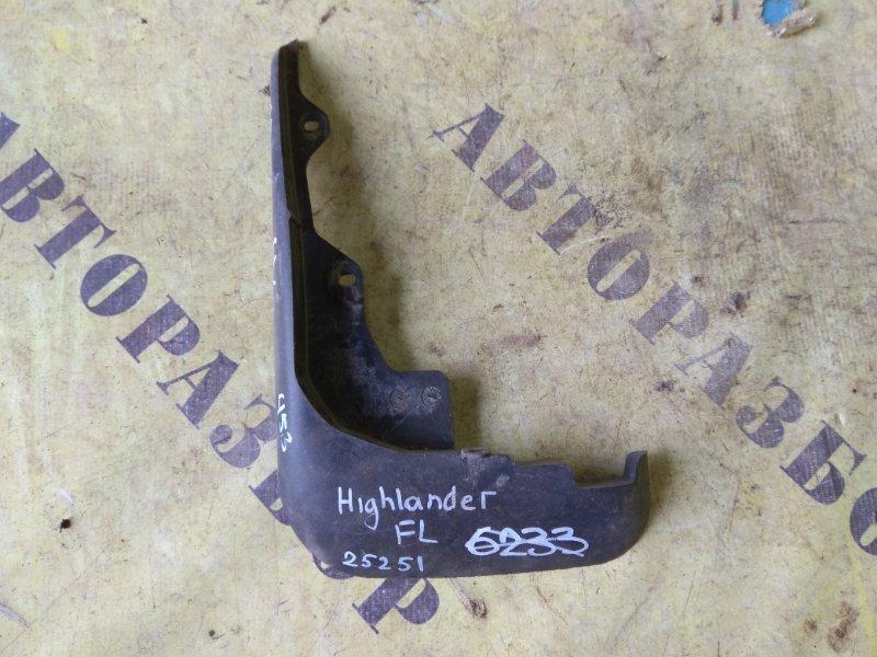 Брызговик передний левый Toyota Highlander 2 2007-2013