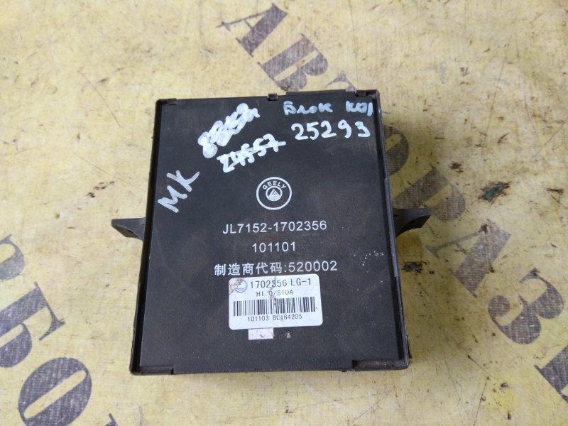 Блок комфорта Geely Mk 2008-2015