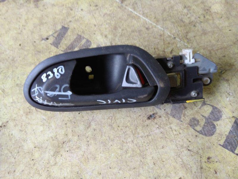 Ручка внутренняя двери передней левой Honda Civic 4D 2006-2012