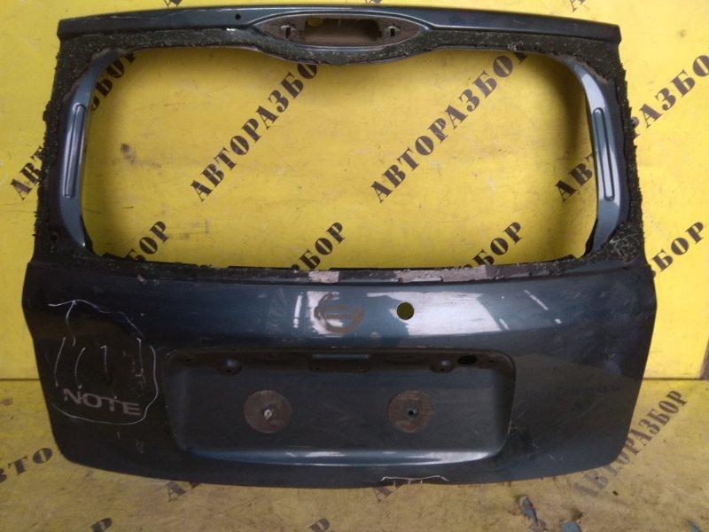 Крышка (дверь) багажника Nissan Note (E11) 2006-2013