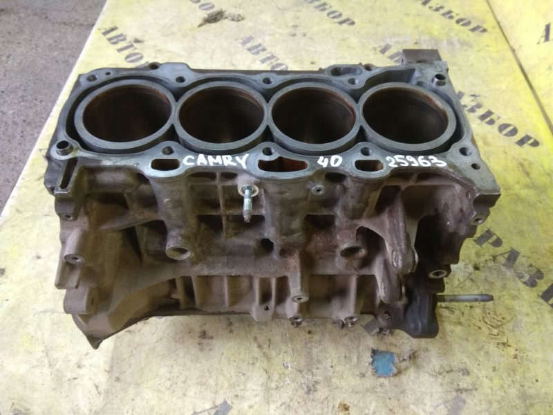 Блок двигателя Toyota Camry 40 2006-2011