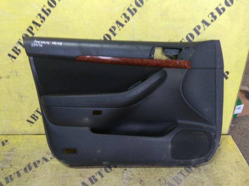 Обшивка двери передней левой Toyota Avensis 250 2003-2009