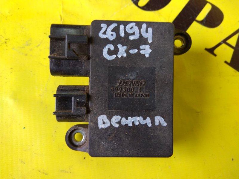 Блок управления вентилятором Mazda Cx7 2007-2012