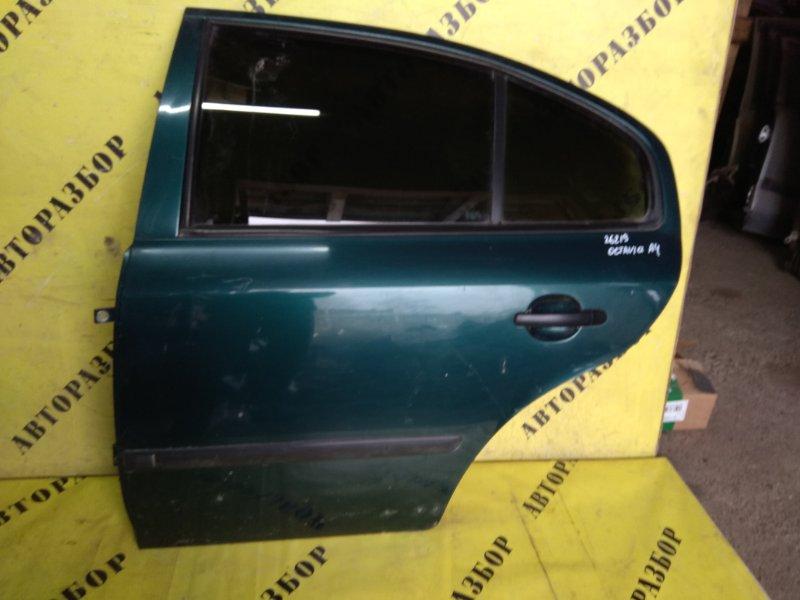 Дверь задняя левая Skoda Octavia (A4) 2000-2011