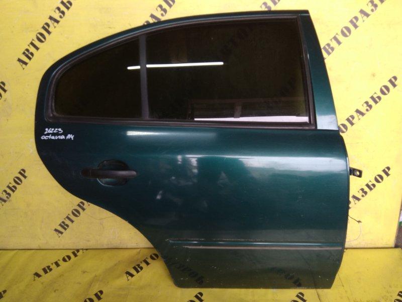 Дверь задняя правая Skoda Octavia (A4) 2000-2011