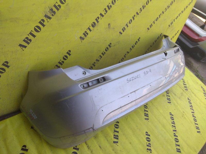 Бампер задний Suzuki Sx4 2006-2013