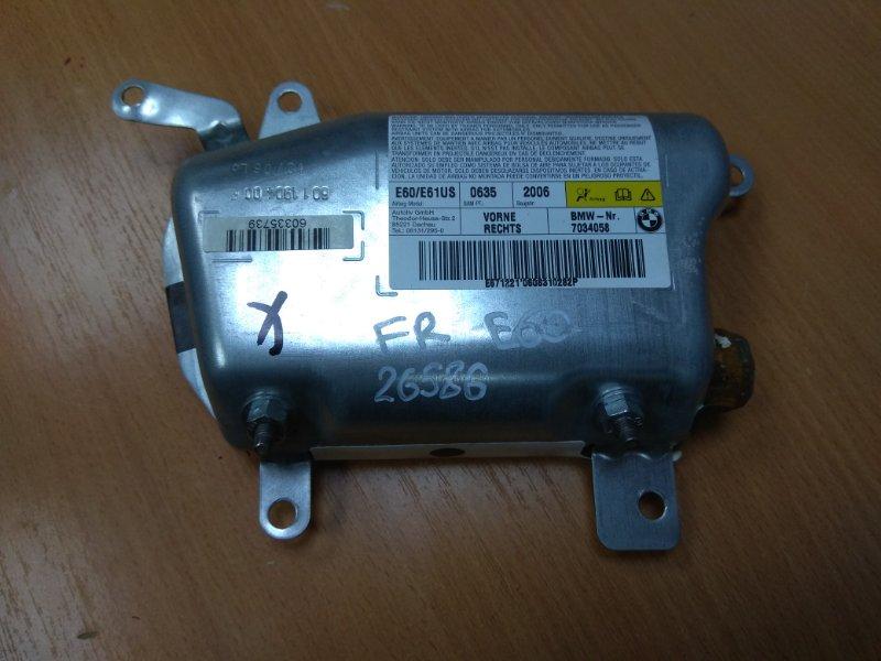 Подушка безопасности пассажирская (в торпедо) srs air bag Bmw 5-Серия E60/e61 2003-2009