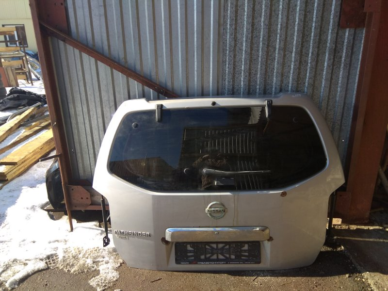 Крышка багажника Nissan Pathfinder (R51M) 2004-2013 2.5 YD25DDTI 2006