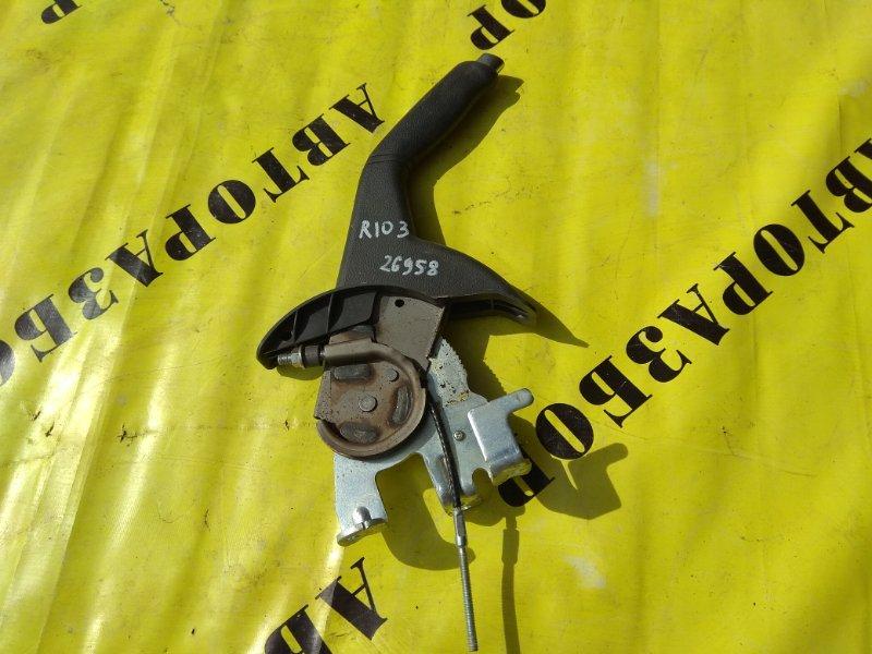Рычаг стояночного тормоза (ручник) Kia Rio 3 2011-2017 СЕДАН 1.6 2016