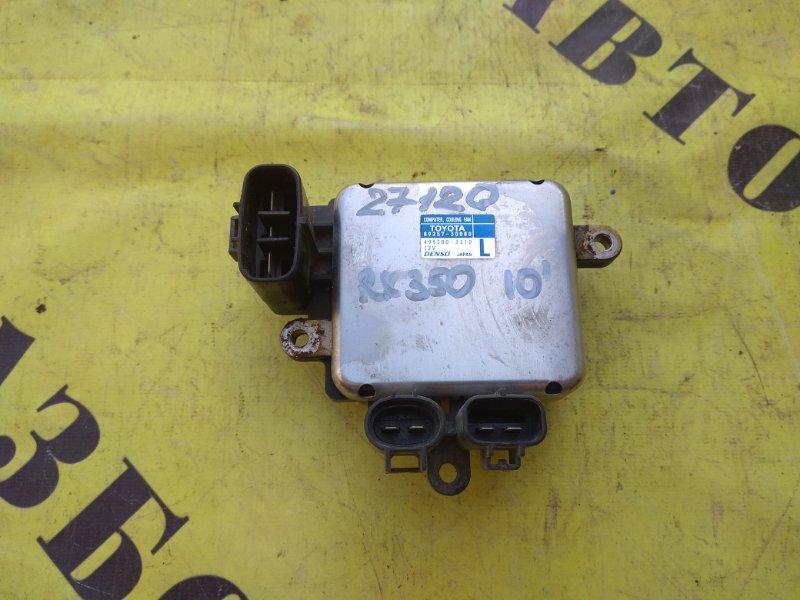 Блок управления вентилятором Lexus Rx350 2009-2015 3.5 2GRFE 2011