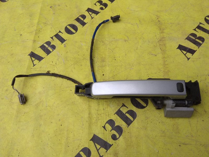 Ручка двери передней левой наружняя Nissan Pathfinder (R51M) 2004-2013 2.5 YD25DDTI 2006