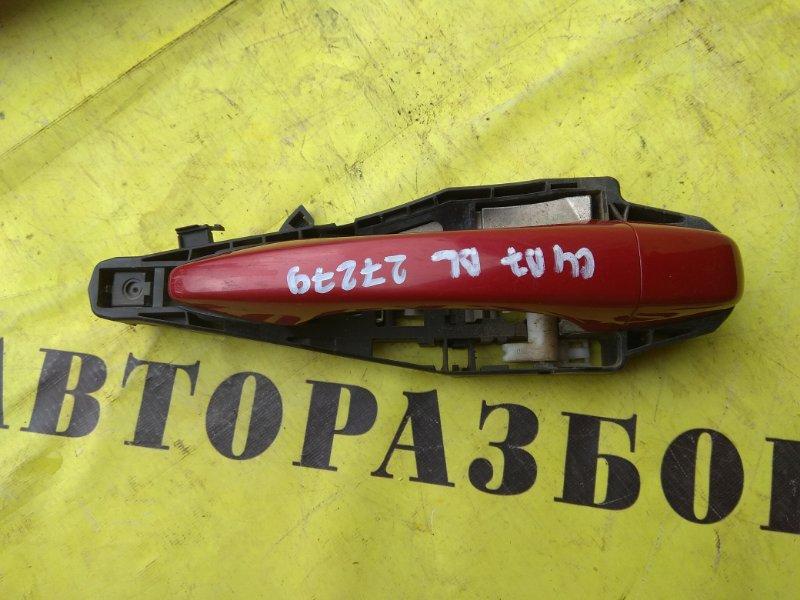 Ручка двери задней левой наружняя Citroen C4 2 2011-H.b. ХЭТЧБЕК 1.6 TU5JP4 NFU 2012