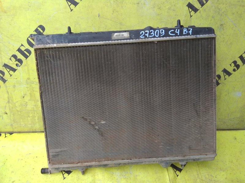 Радиатор охлаждения Citroen C4 2 2011-H.b. ХЭТЧБЕК 1.6 TU5JP4 NFU 2012