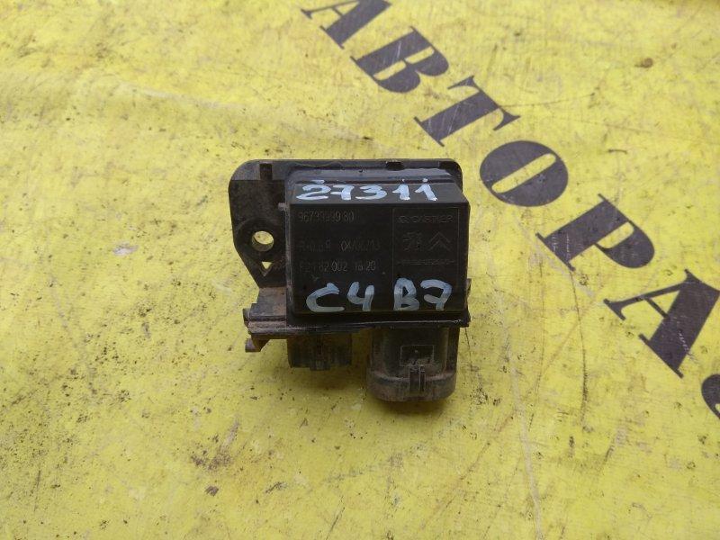 Блок управления вентилятором Citroen C4 2 2011-H.b. ХЭТЧБЕК 1.6 TU5JP4 NFU 2012