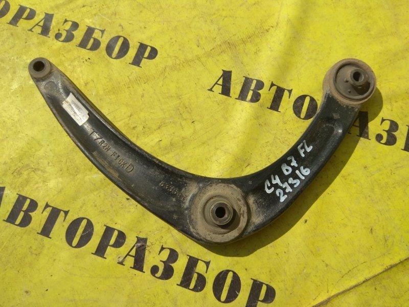 Рычаг передний правый нижний Citroen C4 2 2011-H.b. ХЭТЧБЕК 1.6 TU5JP4 NFU 2012