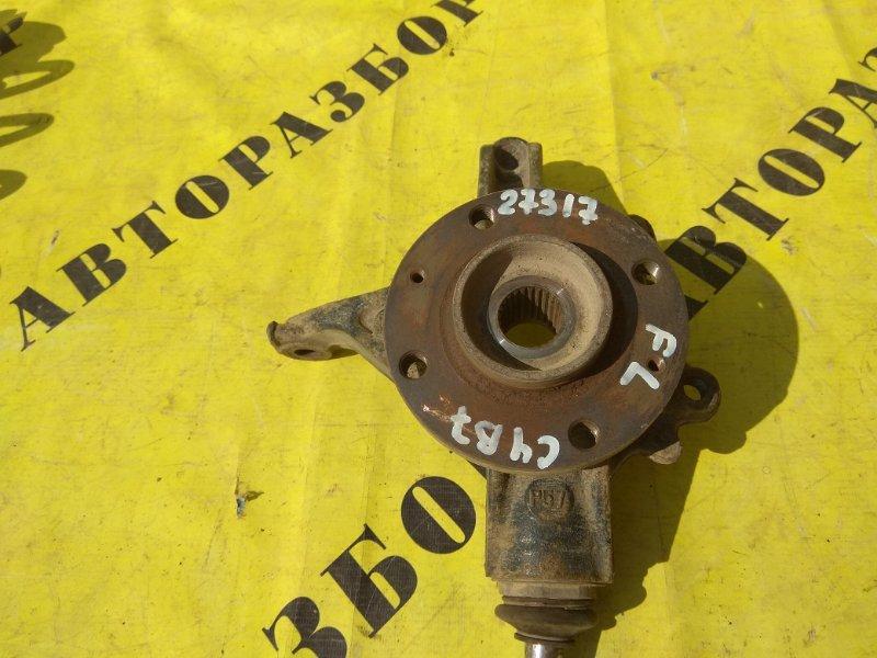 Кулак поворотный передний левый Citroen C4 2 2011-H.b. ХЭТЧБЕК 1.6 TU5JP4 NFU 2012