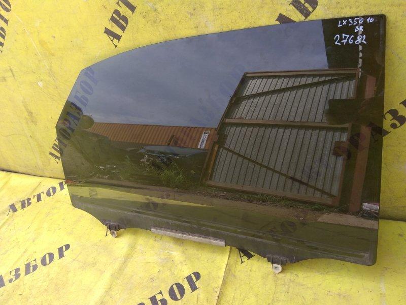 Стекло двери задней правой Lexus Rx350 2009-2015 3.5 2GRFE 2011