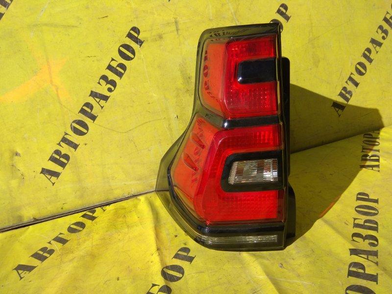 Фонарь задний левый внешний Toyota Land Cruiser Prado 150 2009-H.b.