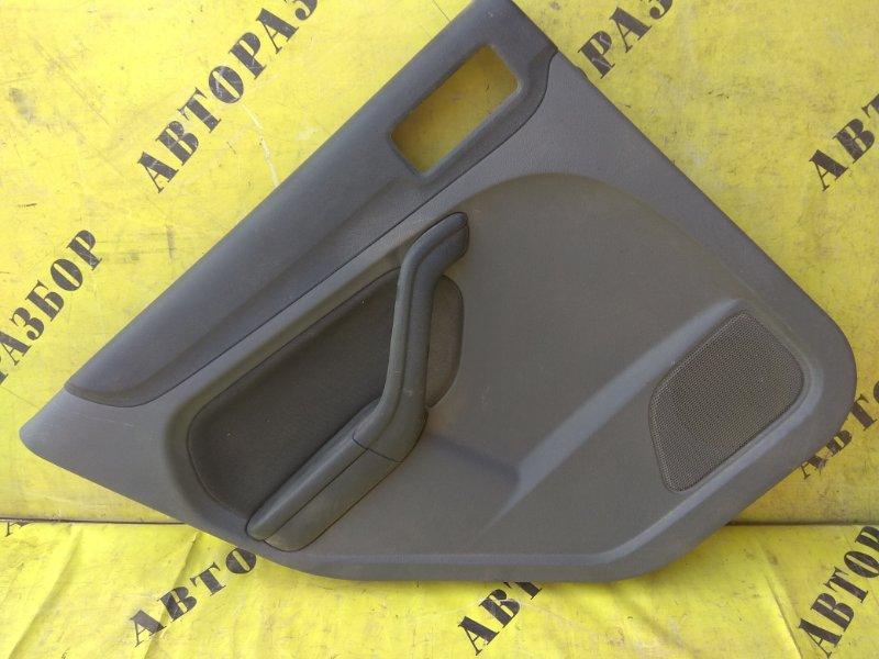 Обшивка двери задней левой Ford Focus 2 2008-2011 СЕДАН 1.6 SIDA 115 Л/С 2008