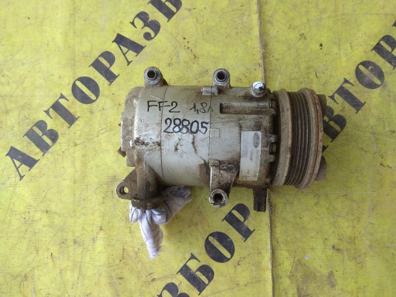 Компрессор кондиционера Ford Focus 2 2008-2011 СЕДАН 1.8 QQDB 125 Л/С 2008