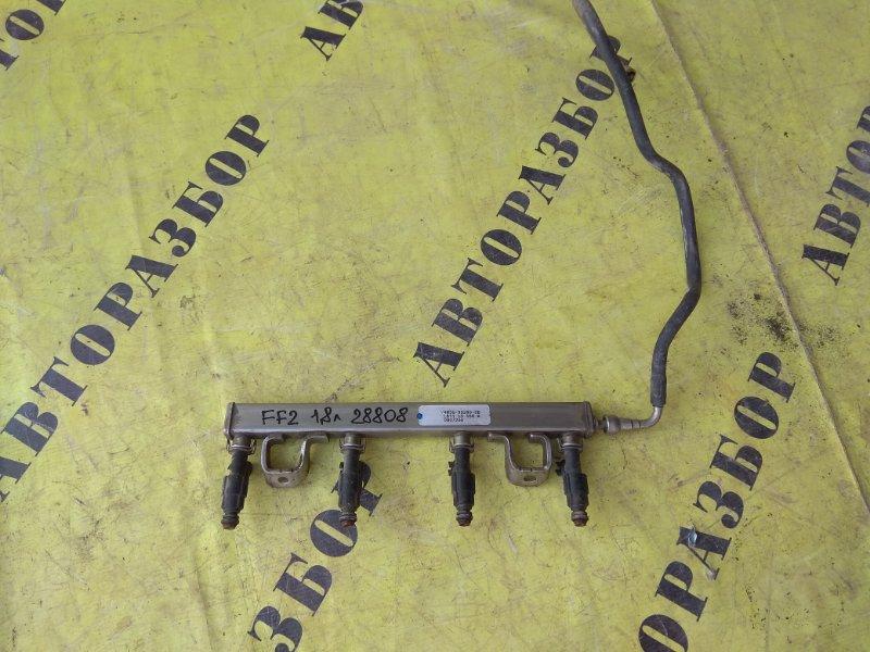 Рейка топливная (рампа) Ford Focus 2 2008-2011 СЕДАН 1.8 QQDB 125 Л/С 2008