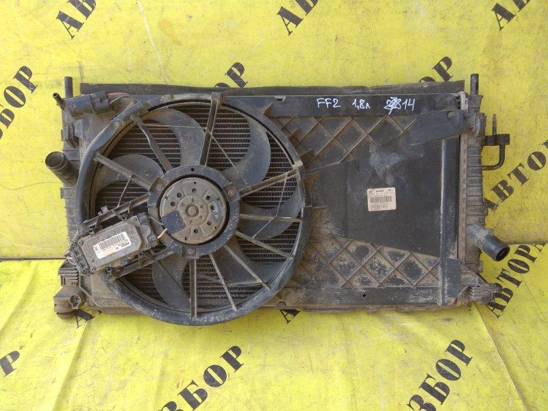 Кассета радиаторов Ford Focus 2 2008-2011 СЕДАН 1.8 QQDB 125 Л/С 2008